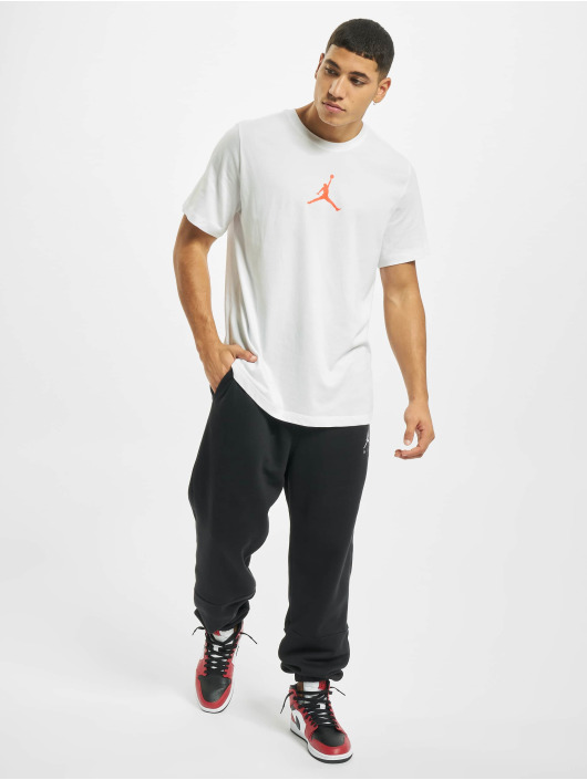 Jordan T-skjorter Jumpman Defect SS Crew hvit