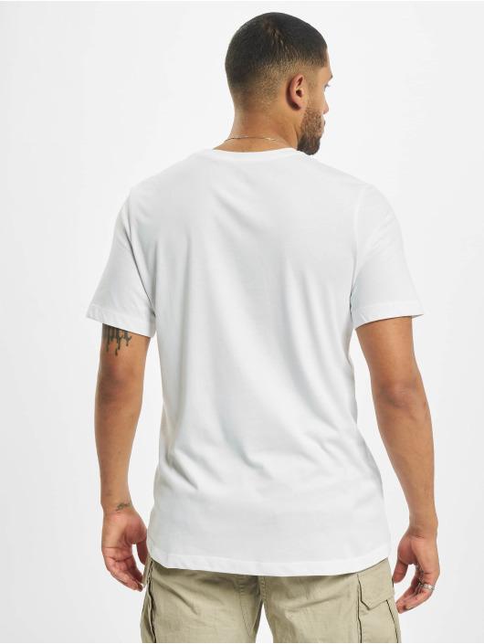 Jordan T-skjorter Script Air Defect Crew hvit