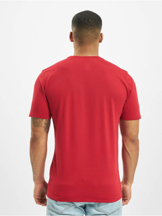 Jordan T-skjorter Sportswear Jumpman Air Embroidered red