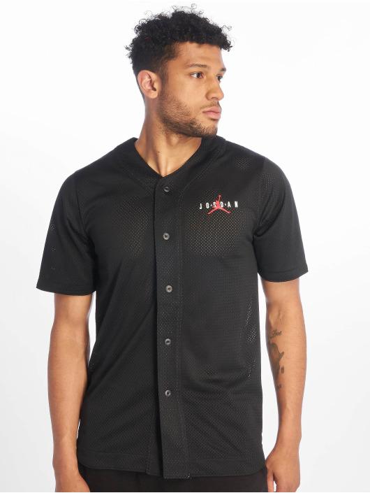 Jordan T-skjorter Jumpman Air Mesh Jersey Gym svart