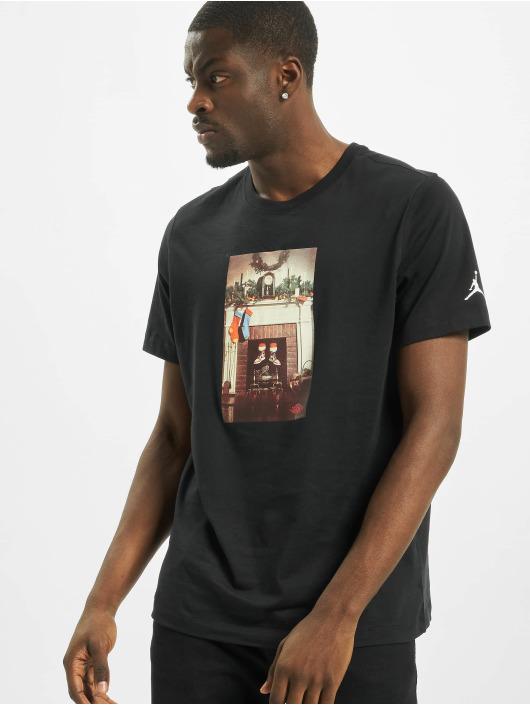 Jordan T-skjorter Mike Air svart