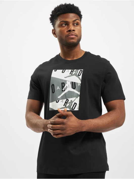 Jordan T-skjorter Air SS Crew svart