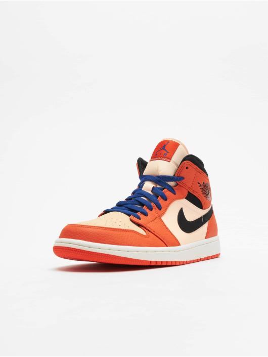 Jordan Tennarit Air 1 Mid Se oranssi