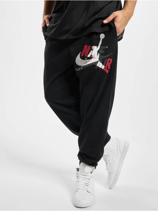 Jordan tepláky Jumpman Classics Fleece èierna