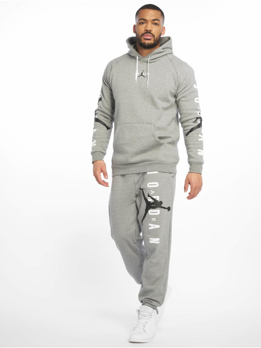 Jordan tepláky Jumpman Air LWT Fleece šedá