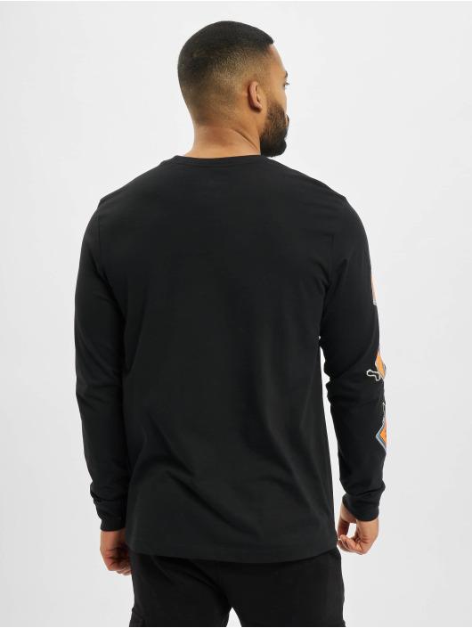 Jordan Tričká dlhý rukáv Keychain èierna