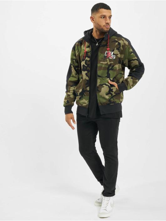 Jordan Vetoketjuhupparit Jumpman Classics camouflage