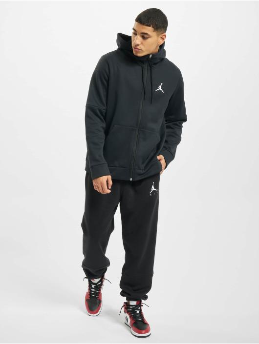 Jordan Zip Hoodie Air Therma Fleece Full Zip black