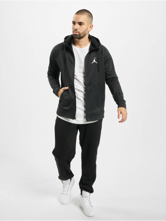 Jordan Zip Hoodie 23 Alpha Therma Fleece FZ czarny