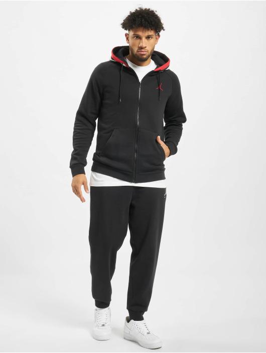 Jordan Zip Hoodie Air Fleece czarny