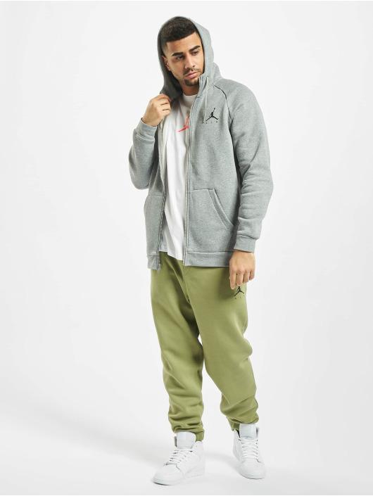 Jordan Zip Hoodie Jumpman Fleece Full Zip grau