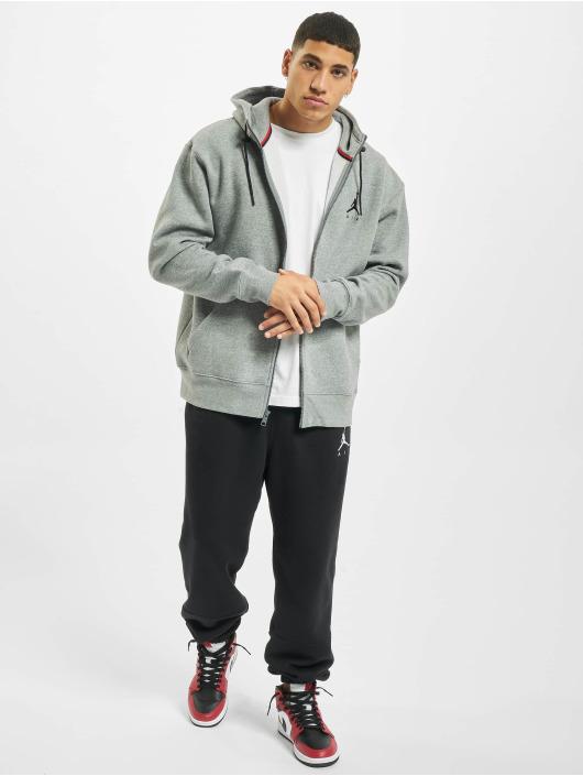Jordan Zip Hoodie Air Fleece Full Zip grau