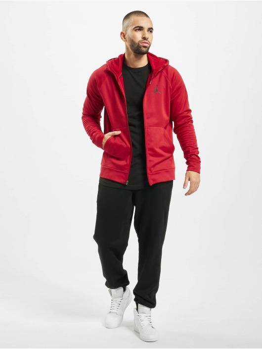 Jordan Zip Hoodie 23alpha Therma Fleece red