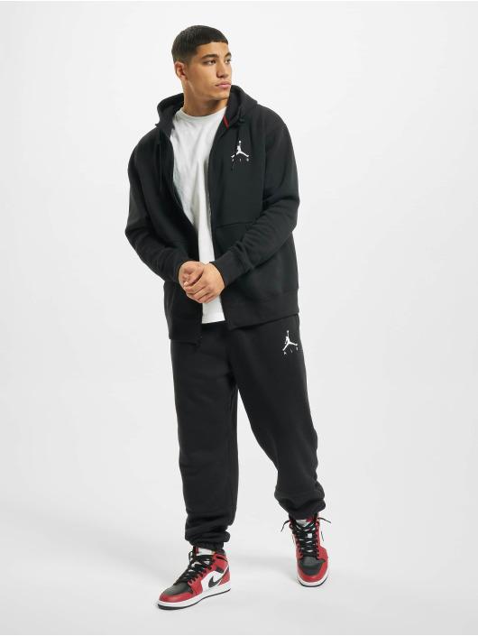 Jordan Zip Hoodie Jumpman Air Fleece Full Zip schwarz