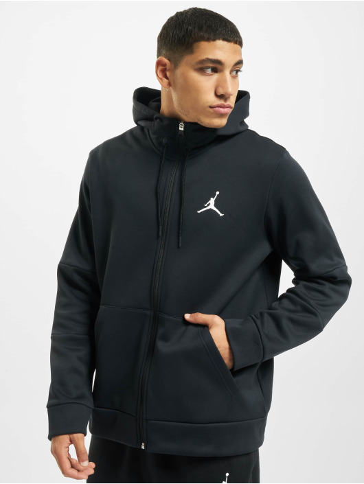 Jordan Zip Hoodie Air Therma Fleece Full Zip svart