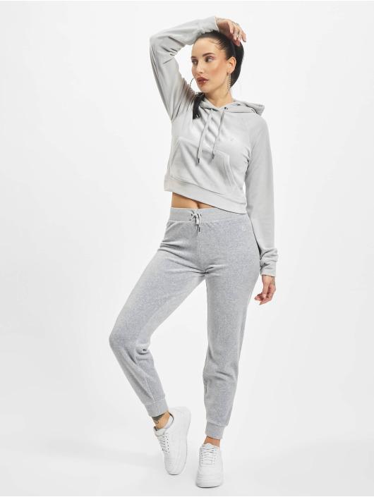 Juicy Couture Bluzy z kapturem Sally szary