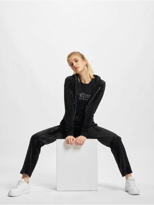 Juicy Couture Joggebukser Delray Diamante svart
