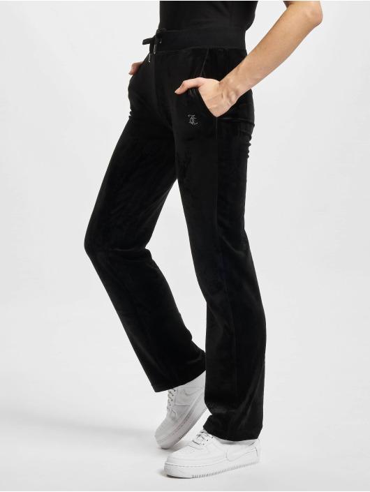 Juicy Couture Jogginghose Delray Diamante schwarz