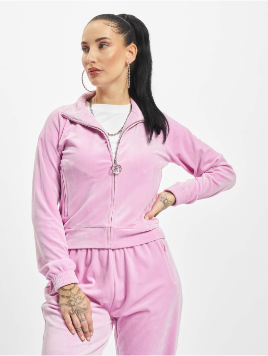 Juicy Couture Prechodné vetrovky Tanya pink