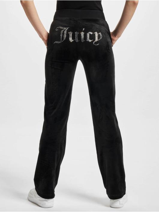 Juicy Couture Spodnie do joggingu Delray Diamante czarny