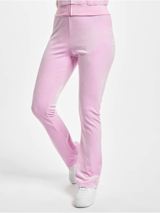 Juicy Couture Spodnie do joggingu Freya Flares pink