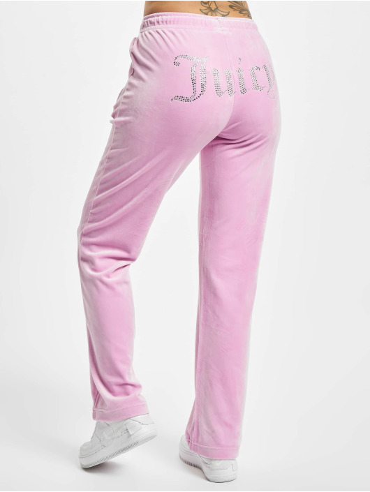 Juicy Couture Spodnie do joggingu Tina pink