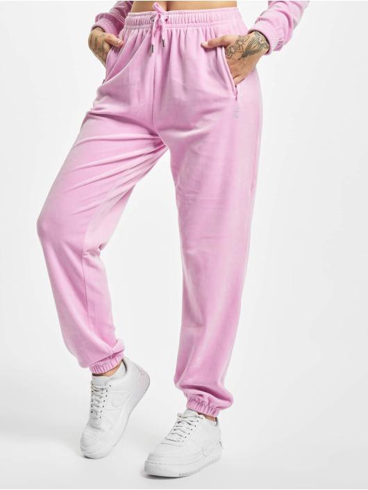Juicy Couture Spodnie do joggingu Lilian pink
