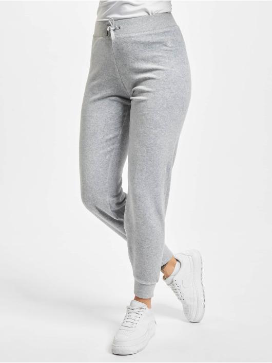 Juicy Couture Spodnie do joggingu Zuma szary