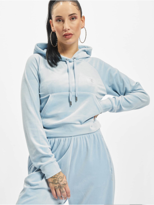 Juicy Couture Sweat capuche Couture bleu