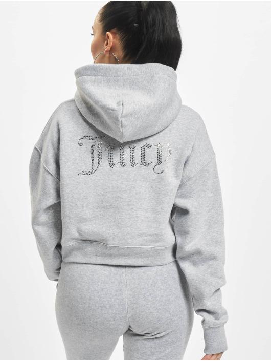 Juicy Couture Sweat capuche Tegan Juicy gris