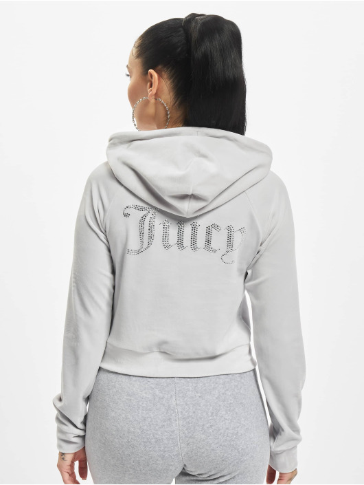 Juicy Couture Sweat capuche Sally gris