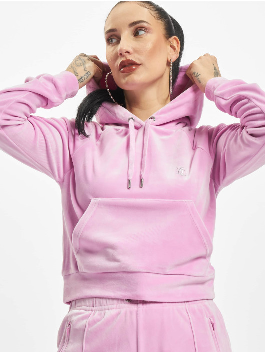 Juicy Couture Sweat capuche Sally magenta