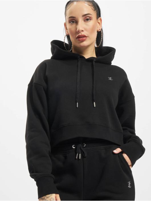 Juicy Couture Sweat capuche Tegan Juicy noir