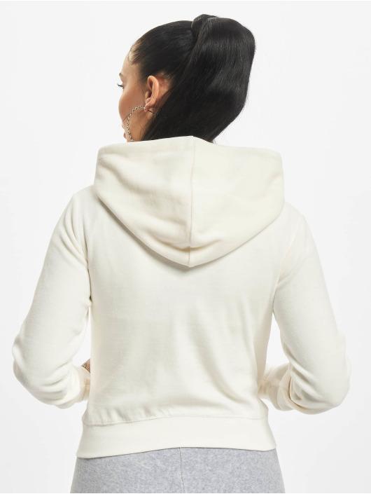 Juicy Couture Sweat capuche zippé Robertson beige