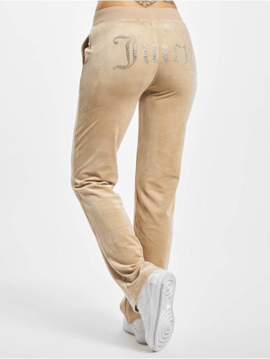 Juicy Couture Sweat Pant Delray Diamante beige