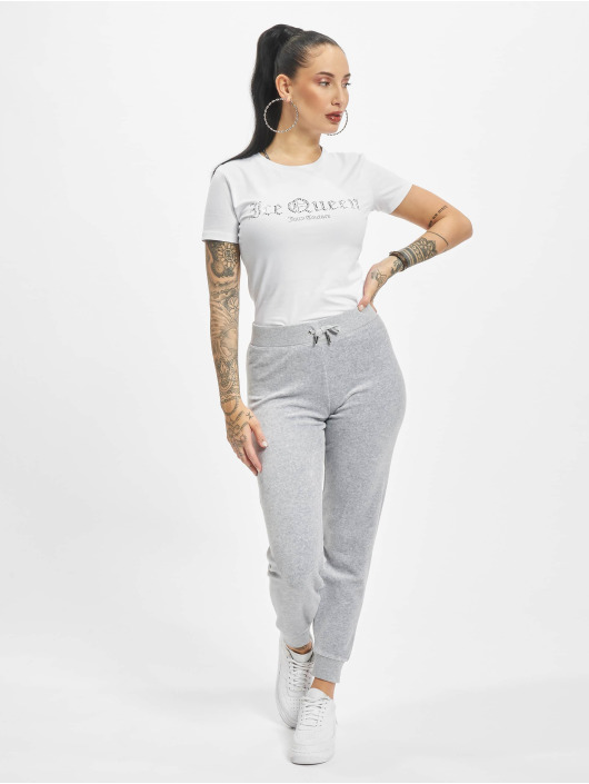 Juicy Couture T-Shirt Icequeen blanc