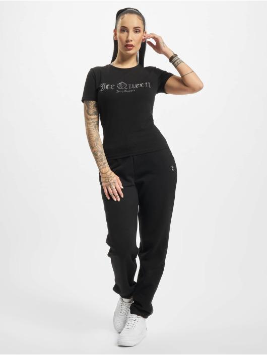 Juicy Couture T-Shirt Icequeen noir