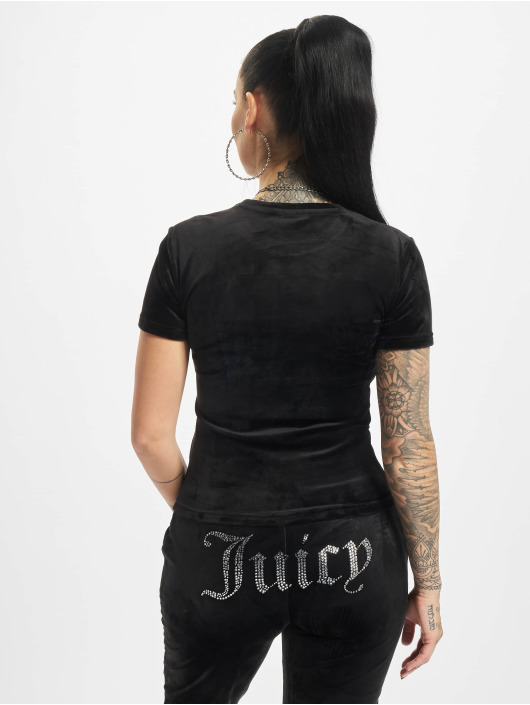 Juicy Couture T-Shirt Taylor schwarz
