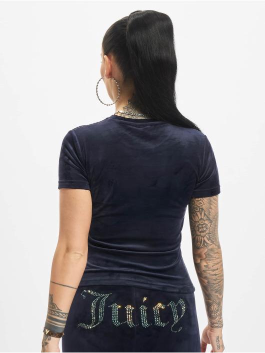 Juicy Couture T-Shirty Taylor niebieski