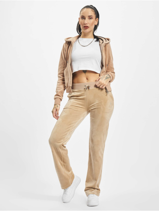 Juicy Couture tepláky Delray Diamante béžová