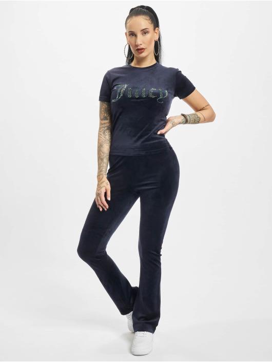 Juicy Couture tepláky Freya Flares modrá