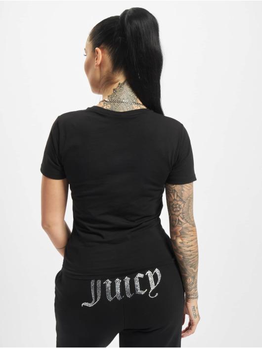 Juicy Couture Tričká Icequeen èierna