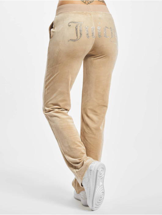 Juicy Couture Verryttelyhousut Delray Diamante beige
