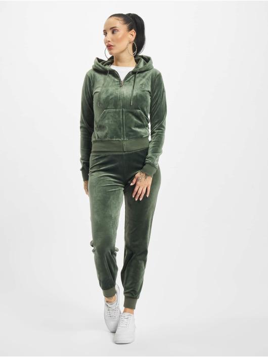 Juicy Couture Verryttelyhousut Zuma Jogger vihreä
