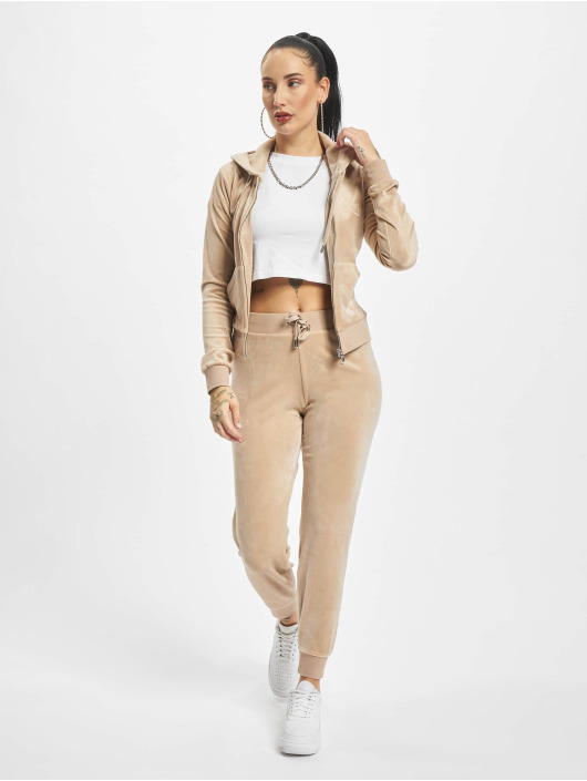 Juicy Couture Vetoketjuhupparit Robertson Class beige