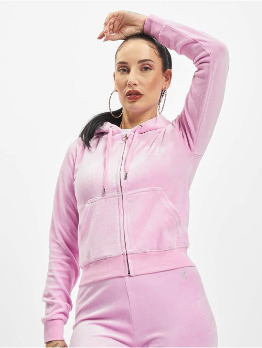 Juicy Couture Vetoketjuhupparit Robertson vaaleanpunainen