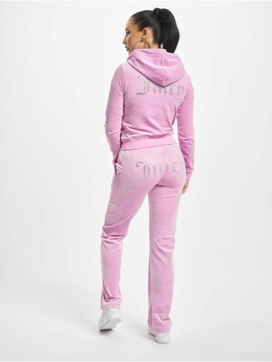 Juicy Couture Vetoketjuhupparit Robertson Diama vaaleanpunainen