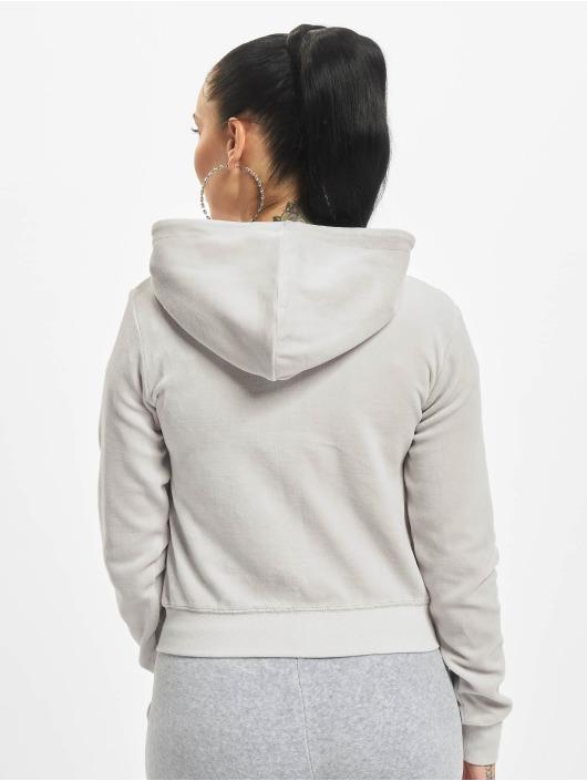 Juicy Couture Zip Hoodie Robertson šedá