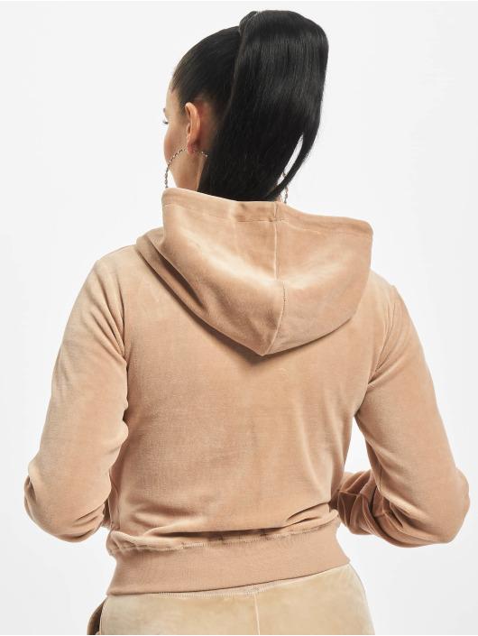 Juicy Couture Zip Hoodie Robertson brazowy
