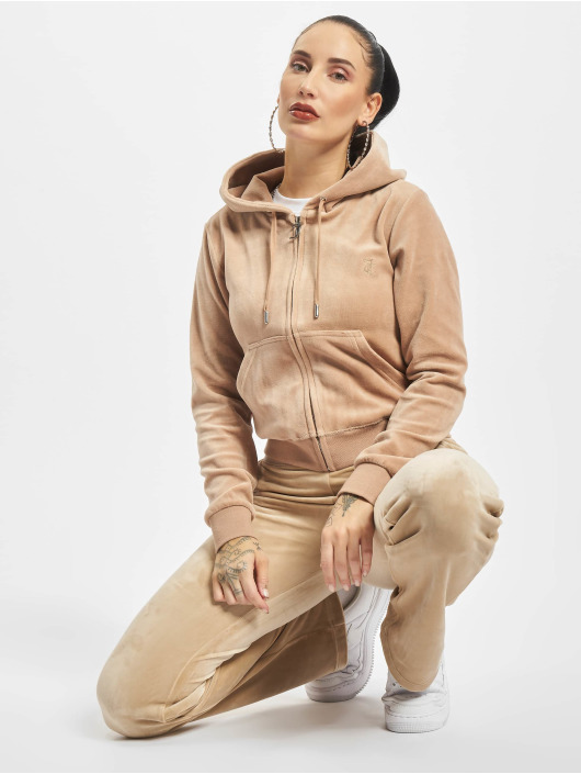 Juicy Couture Zip Hoodie Robertson brun